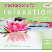 Meditations for Relaxation: Three Guided Meditations to Relax Body and Mind (Audiobook)