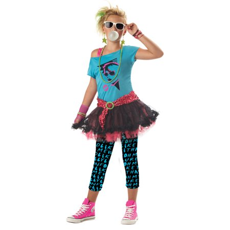80's Valley Girl Child Halloween Costume for $<!---->