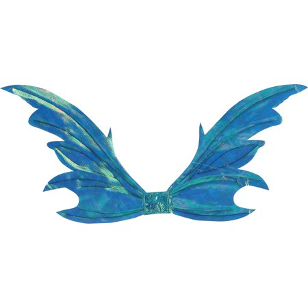 Morris Costumes Wings Fairy Opal Blue, Style, FW90460BU - Blue Fairy Wings Costume