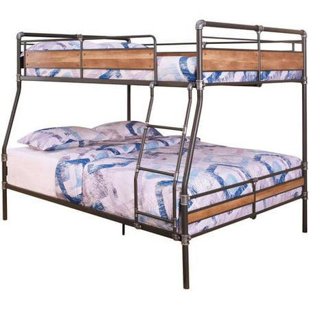 Acme Brantley Ii Full Xl Over Queen Bunk Bed Sandy Black Amp