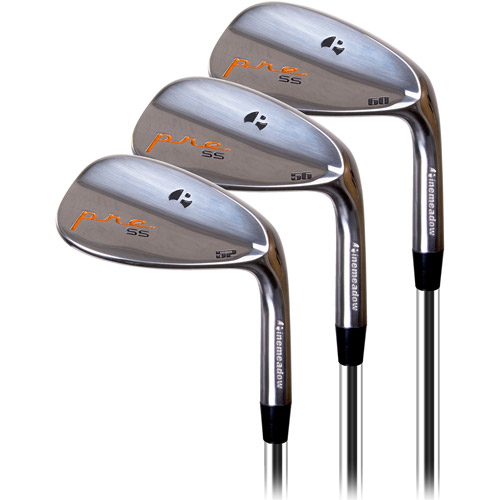 Pinemeadow Golf PRE Men's Wedge, Right Handed, 3pk