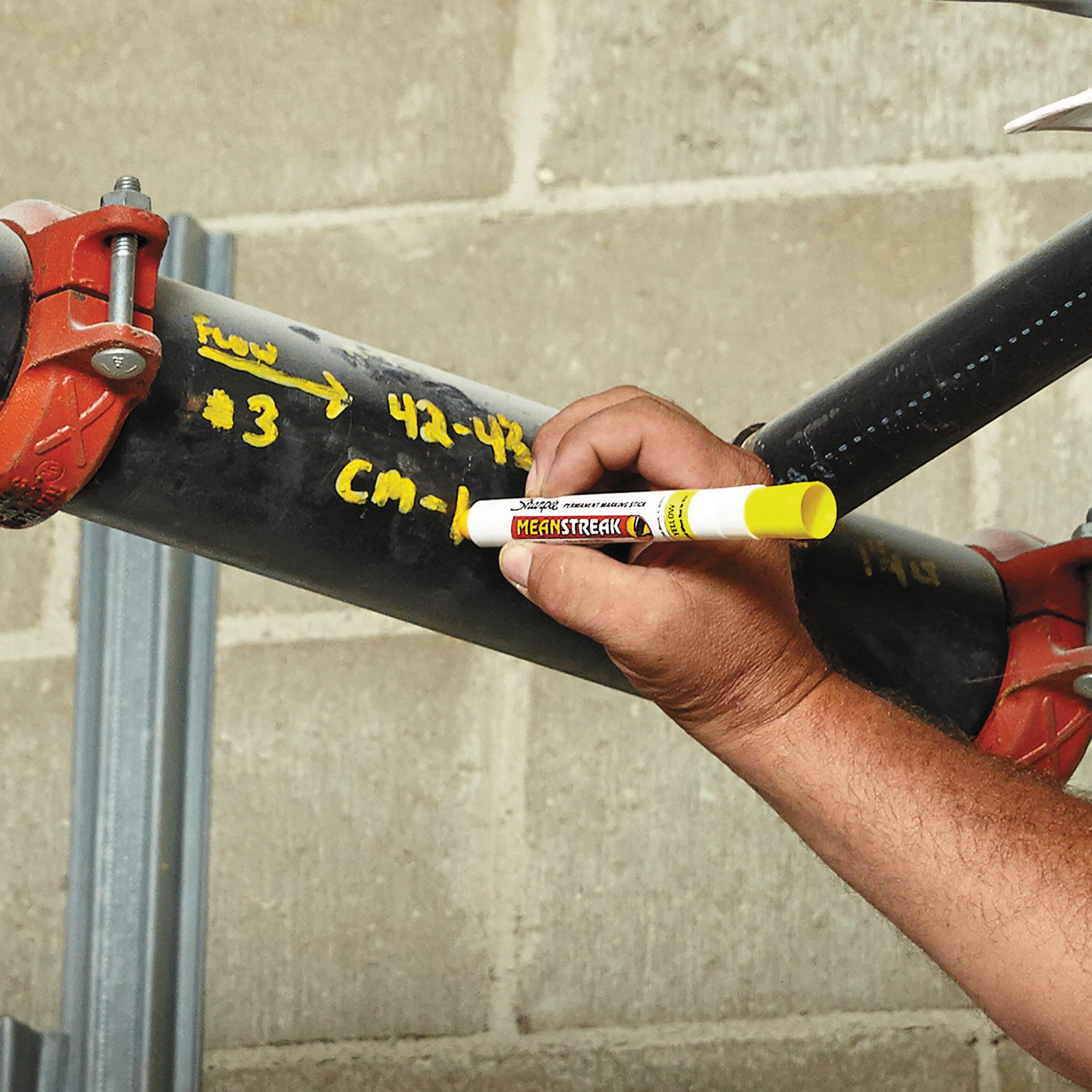 sharpie mean streak marking stick broad tip yellow walmartcom