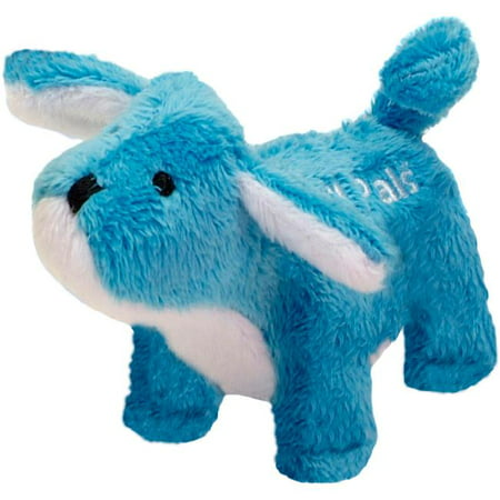 (Coastal Pet Products 84207-DOG 4.5 in. Lil Pals Plush Dog Toy - Dog, Blue)