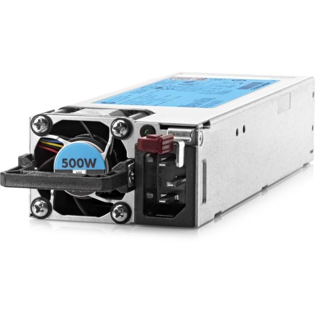 HPE 500W Flex Slot Platinum Hot Plug Power Supply Kit - 250 V AC