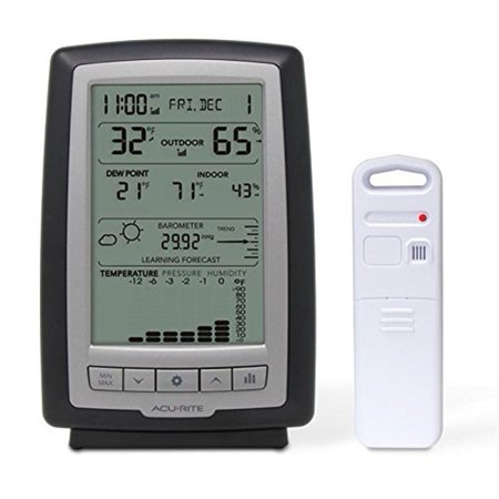 - AcuRite 01181M Indoor and Outdoor Weather Station with Forecast