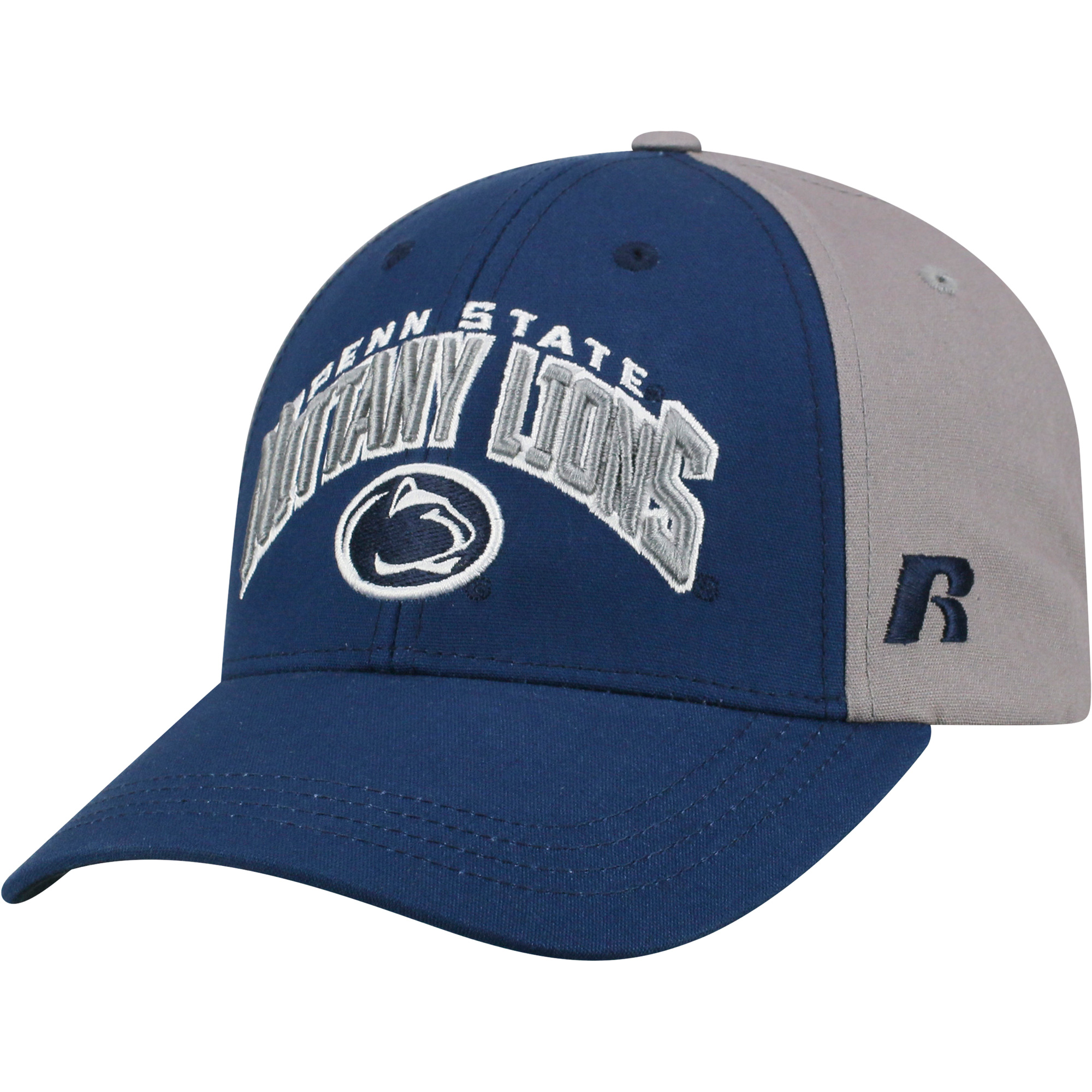 Men's Navy/Gray Penn State Nittany Lions Tastic Adjustable Hat - OSFA