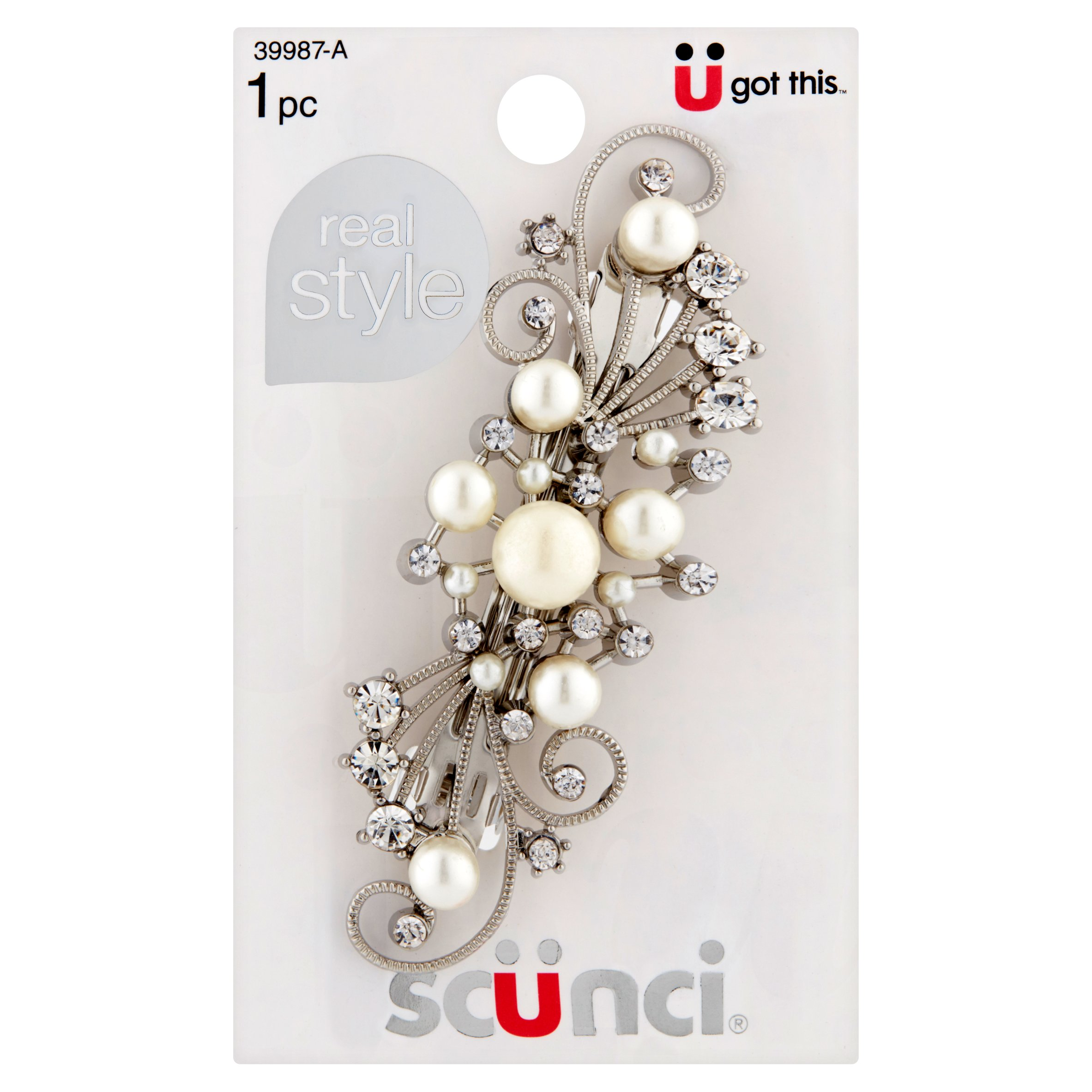 Scünci Ü got this Real Style Barrette
