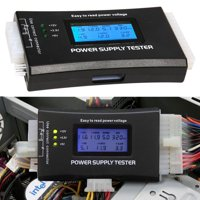TSV 20/24 4/6/8 PIN Computer PC Laptop Power Supply Tester (5th Generation) for ATX, ITX, BTX, IDE,PCI-E HDD,SATA, BYI Connectors, 1.8'' LCD Screen