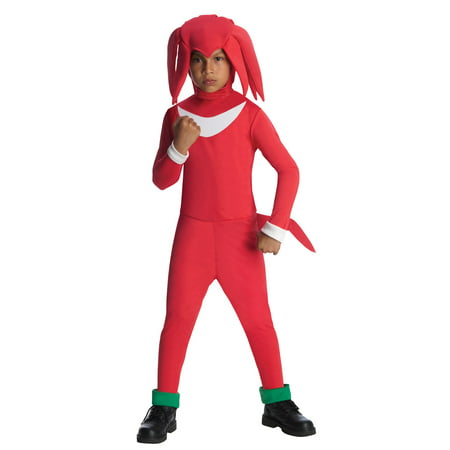 Knuckles Sonic the Hedgehog Costume for Kids - Sanic Costume