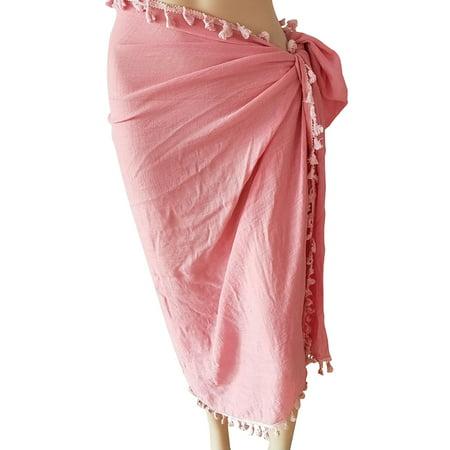 5e9d000c66f96 fysho - Fysho Women Swimwear Bikini Beach Wear Cover Up Swimsuit Wrap Skirt  Dress Beach Skirts - Walmart.com