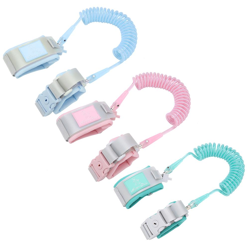 VBESTLIFE 2M Baby Kids Anti Lost Wrist Leash with Safety Key Lock Child Toddler Harness Wristband , Kids Safety Leash, Walking Safety Leash