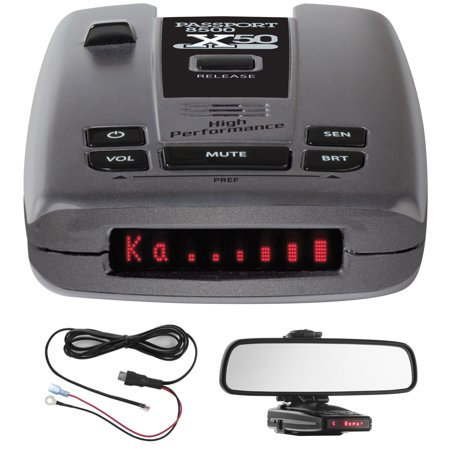 Escort Passport 8500 X50 Radar & Laser Detector with Smart ...