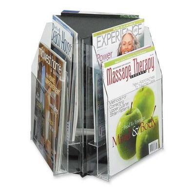 Safco Literature / Magazine Sorter and Rack (Safco Panelmate Waterfall Sorter)
