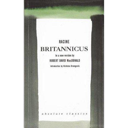 David Roberts Painter (Brittanicus : A New Version by Robert David MacDonald )