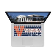 KB Covers University of Virginia Keyboard Cover for MacBook/Air 13/Pro (2008+)/Retina & Wireless (UVA1-M-EDU)