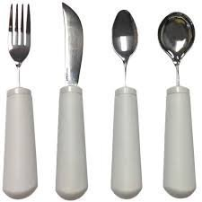 Weighted Utensils (Kinsman Classic Weighted Utensils : Utensil Set ( 1 of)
