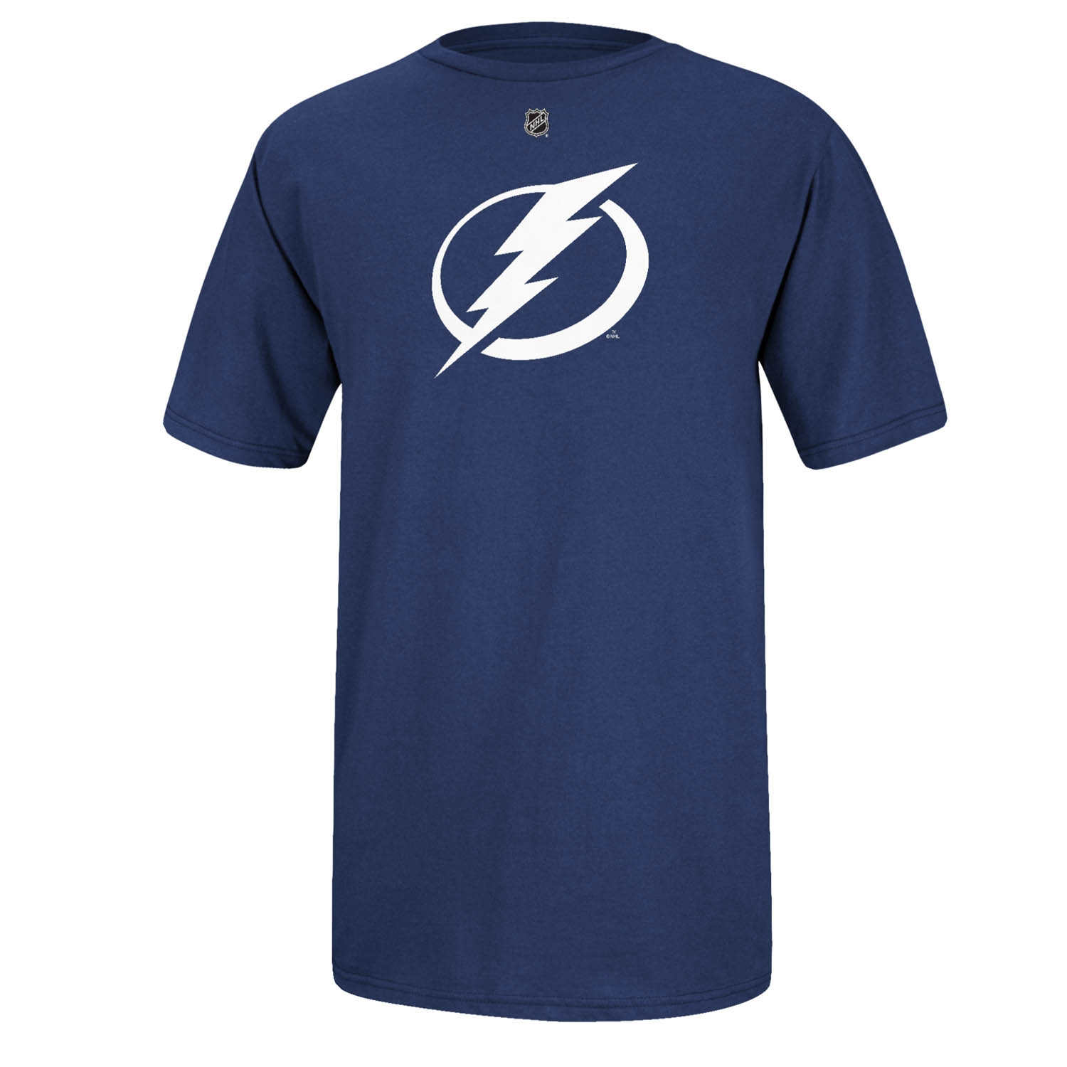 Tampa Bay Lightning Reebok NHL Primary Logo Men T Shirt Blue XXL