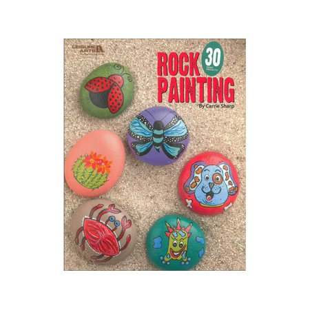 Leisure Arts Rock Painting Bk - Leisure Arts Pad
