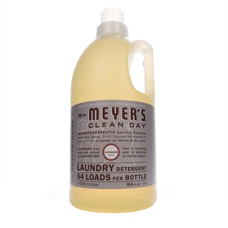 Mrs. Meyer's Clean Day 64 Load Laundry Detergent, Lavender, 64 fl oz