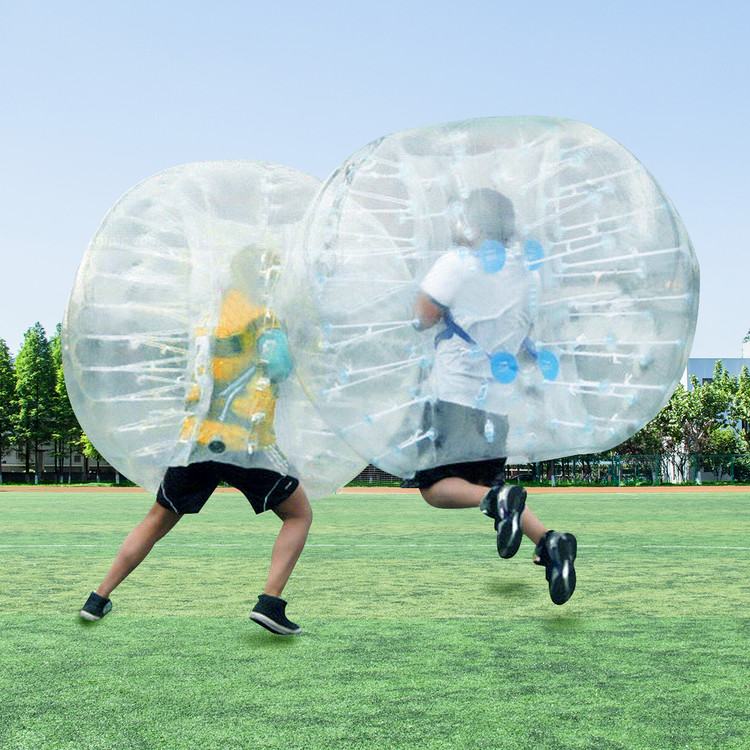 Inflatable Bumper Ball, Transparent 0.8mm PVC Inflatable Bumper Ball Entertainment Human... by