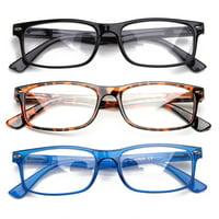 204c6fc80e7a Product Image Newbee Fashion - Unisex Translucent Simple Design No Logo Clear  Lens Glasses
