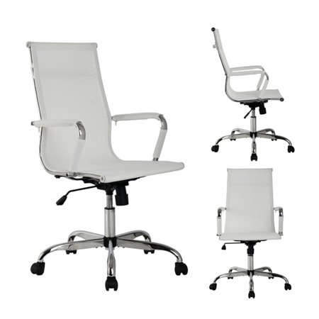 Durable Ergonomic Nylon Mesh High Back Executive Swivel Computer Office Chair