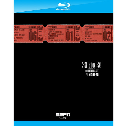 ESPN Films: 30 For 30 Collector's Set: Films 1-30 (Blu-ray)