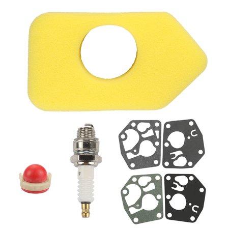 Classic Air Cleaner Kit (HIPA Air Filter For Briggs & Stratton 3.5 thru 4.5 HP classic sprint uattro motors 9B902 98902 98982 10A902 10B902 Air Filter Spark Plug Kit)