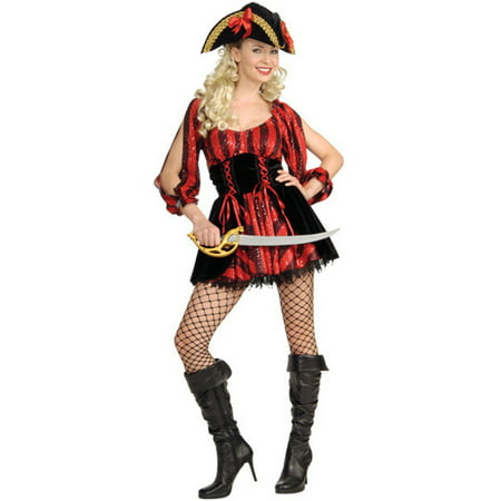 Women's Adult  Sea Queen Naughty Pirate Costume - Naughty Womens Costumes