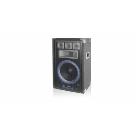Technical Pro vrtx12 12 in. Five way Carpeted Cabinet Speaker with Steel