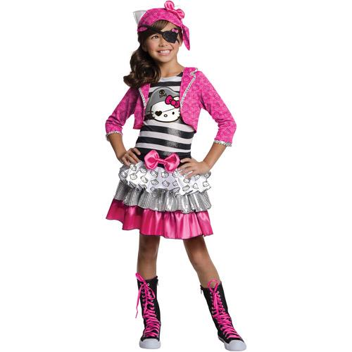 Hello Kitty Pirate Girl Halloween Costum