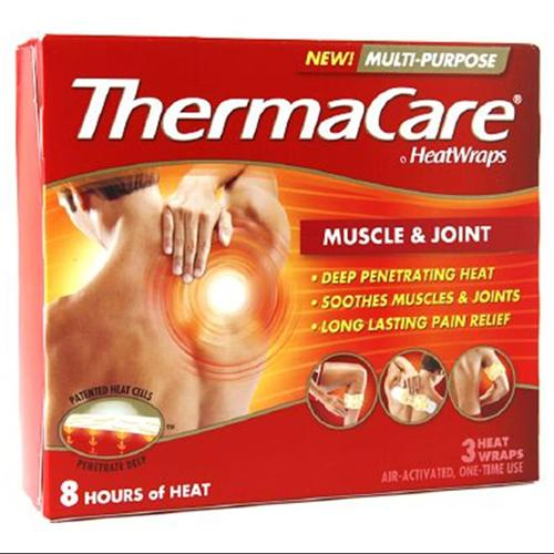 ThermaCare Heat Wraps Muscle & Joint 3 ea (Pack of 2)
