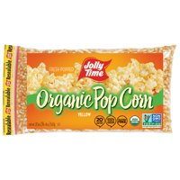 Jolly Time Organic Yellow Kernel Popping Corn 20 Oz