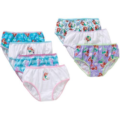 Big Girls' Ariel 7pc Pk Panty