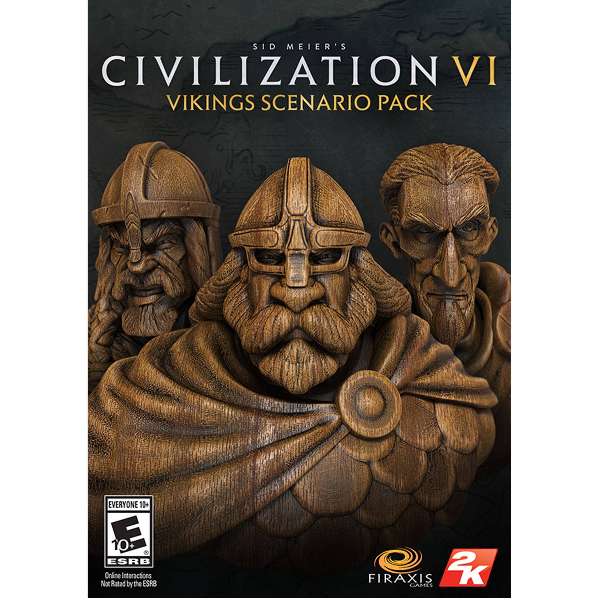 Sid Meier's Civilization VI: Viking Scenario Map Pack (PC) (Digital Download)