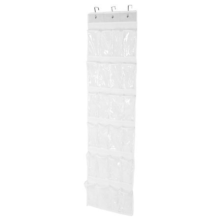 Ejoyous 24-Pockets Hanging Storage Shelf Shoes Holder Organizer Rack Space Saving, 24-Pockets Storage Bag, Shoes Organizer Rack - image 6 of 7