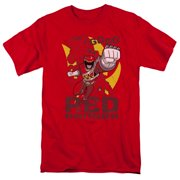 Power Rangers - Go Red - Short Sleeve Shirt - Small