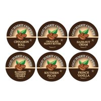 Smart Sips Coffee Flavor Lovers Coffee Variety Sampler Pack Single Serve Cups, 24 Count, Compatible With All Keurig K-cup Machines