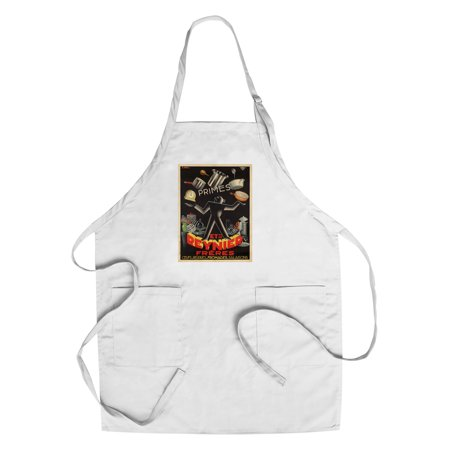 Reynier Vintage Poster  Artist  Dingly  R   France C  1937  Cotton Polyester Chefs Apron