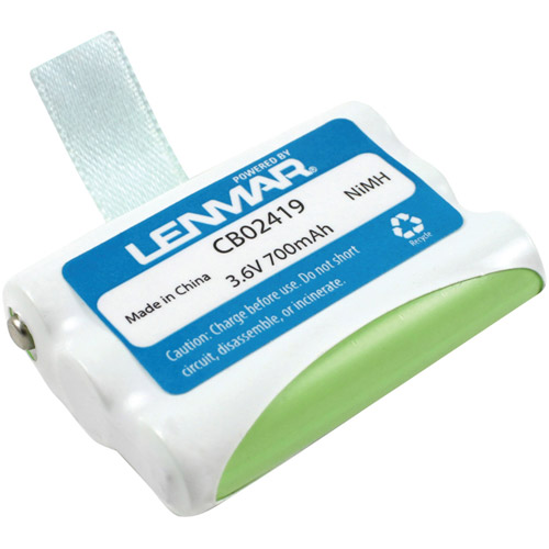 Lenmar CB02419 AT&T, Lucent and VTech Replacement Battery