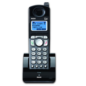 """RCA 25055RE1 DECT 6.0 Accessory Handset for RCA 2 Line Cordless Phones Model 25255RE2, 25210RE1 & 25250RE1"""