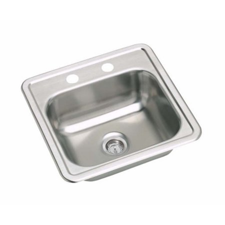 Proflo Pfsr151561a 15in Single Basin Drop In Stainless