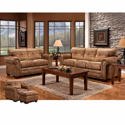 American Furniture Classics Wild Horses 4-Piece Set
