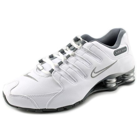 Nike - Nike Shox NZ EU Women Round Toe Leather White Running Shoe -  Walmart.com 436b0c403