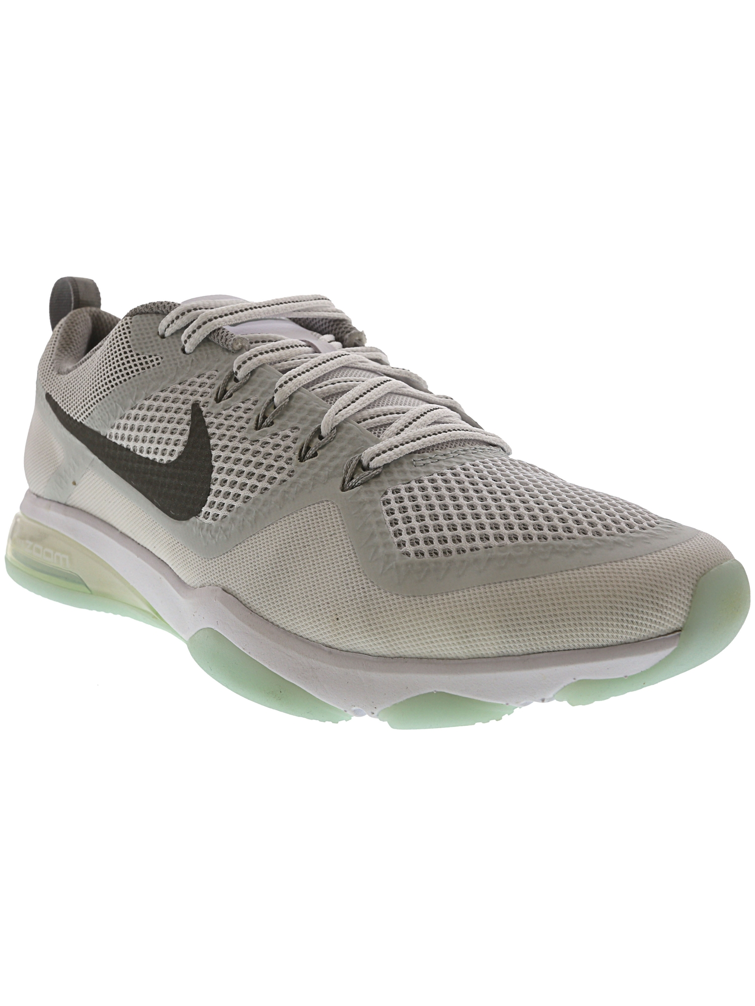 6ffe24b8f78bc Nike Women s Air Zoom Fitness Reflect White   Silver Ankle-High Training  Shoes - 9M