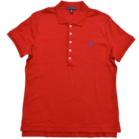 517cd70f01d3 Polo Ralph Lauren Womens Classic Fit Interlock Polo Shirt (S