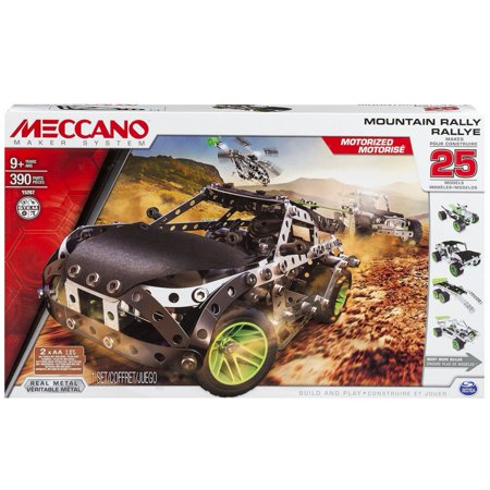 Meccano-Erector Mountain Rally, 25 Model Building Kit