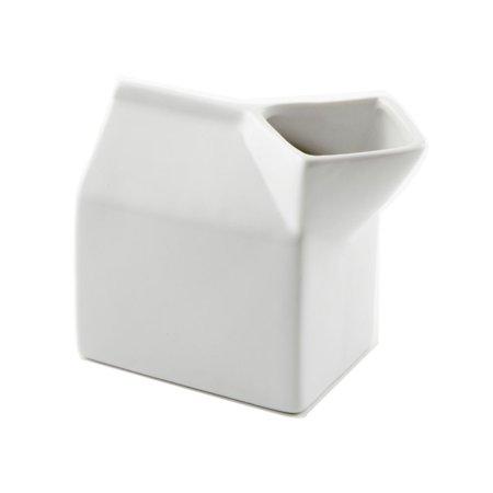 American Metalcraft CMCC5 White 5 Oz. Ceramic Milk Carton Creamer](Halloween Milk Carton Crafts)