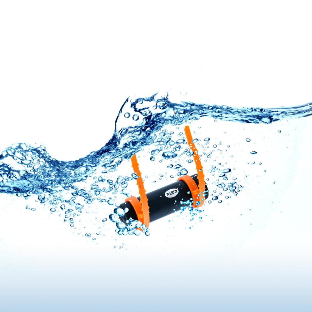 4GB Waterproof Water MP3 Music Player FM Radio Earphone For Underwater Sport