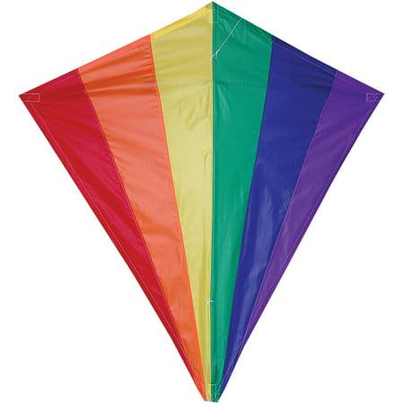 """Premier Designs 30"""" Diamond Kite, Rainbow"""
